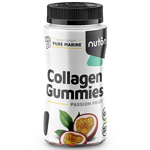 Collagen Gummies for Hair, Skin and Nails, 90ct Bottle | Hydrolyzed Collagen Peptides in Yummy, Low Sugar Gummy Format from Marine Sources