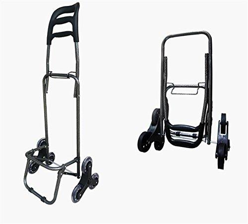 HCC& Gefaltet Einkaufswagen Tragbar Kofferkuli Lagerrad Klettern Wagen Mit Wasserdicht Tasche Dynamisch: 35kg b