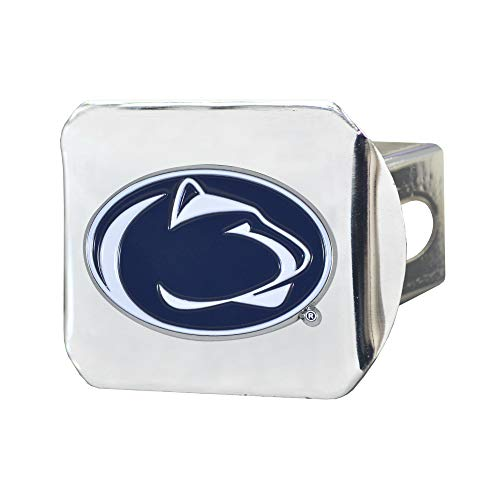Penn State Nittany Lions 3D Color Emblem Chrome Hitch Cover