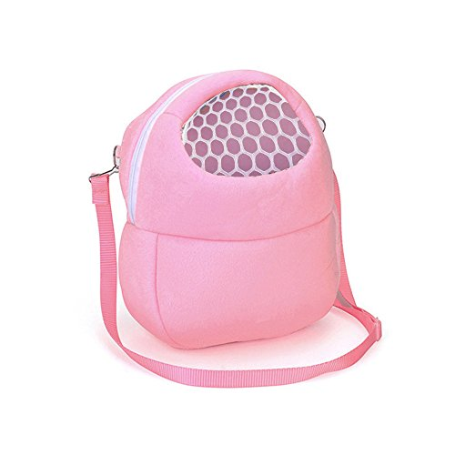 Price comparison product image Toy Storage Organizer With The Grid,  Unique Style,  Unpara Compatible With Small Pets Durable Carrying Backpack for Showing Real Life (Pink)