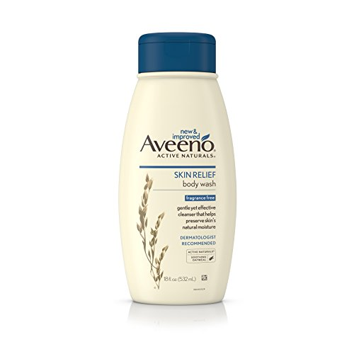 - Aveeno Active Naturals Skin Relief Body Wash, Fragrance Free, 18 Fl. Oz