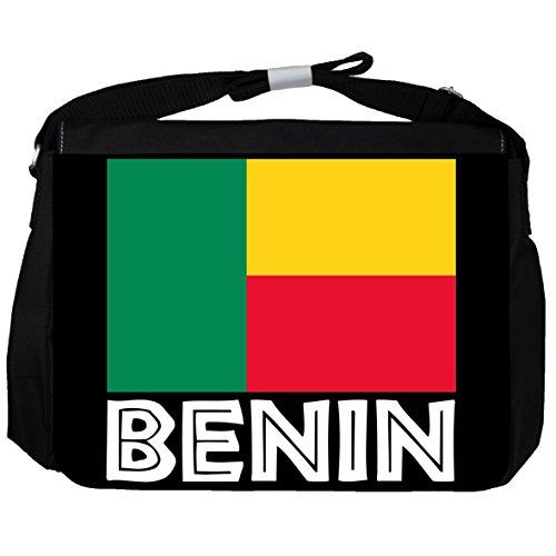 Benin -Flagge - Unisex-Umhängetasche