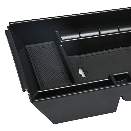 Center Console Armrest Storage Box For Ford F150 Raptor