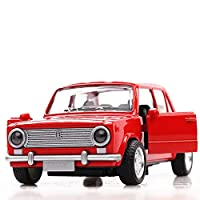 Greensun 1:36 Toy Car autoVAZ- Lada Car Metal Toy Diecasts & Toy Vehicles Car Model Miniature Scale Model Car Toys for Children