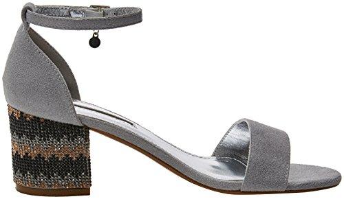 De Tacon 30702 Zapatos Plateado Y platinium Xti Mujer Para Correa Con Tobillo pnTRxnYtq