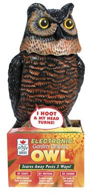Easy Gardener Garden Defense Electronic Owl #8021