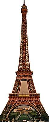 Eiffel Tower Standup Cardboard Cutouts 36 x 88in