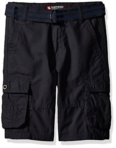 Southpole Belted Canvas Shorts Various
