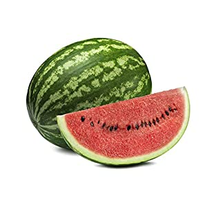 Crimson Sweet Watermelon Seeds – Non-GMO – 3 Grams