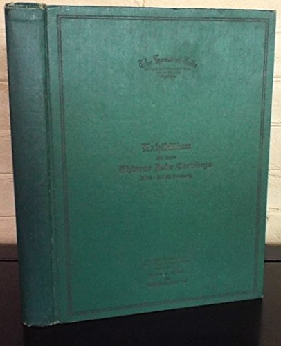 A Catalogue of Rare Chinese Jade Carvings Compiled by Stanley Charles Nott