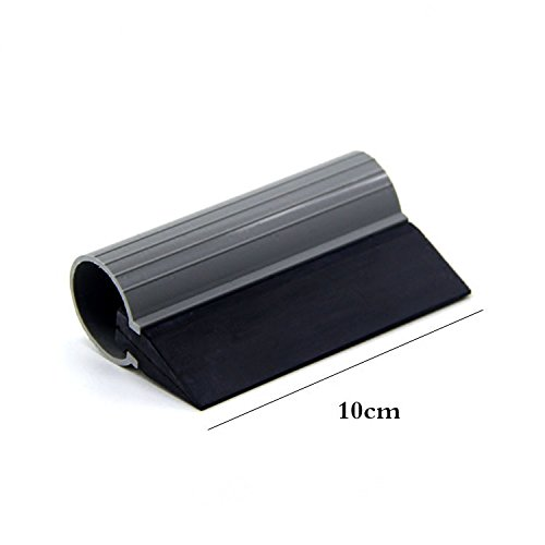 Turbo Rubber - CARLAS Tube Rubber Squeegee with Turbo Handle Window Film Tools Tint Applicator for Vehicle Wrapping Window Glass Tinting