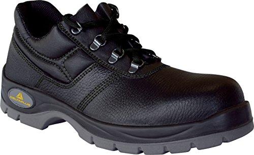 Delta Plus Jet (panoply) 2 S1 - para hombre/para mujer - Zapatos de para de trabajo con punta de acero negro - negro