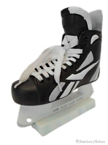 7「子供部屋装飾ブラックIce Hockey Skatesお金貯金箱   B00ENLGJI4