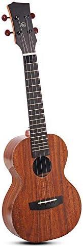 ギター フルボードとアプリケーションインテリジェント教育初心者のギターのパッケージにバッグ&ストリングス 初心者 入門 (Color : As shown, Size : 23inch)