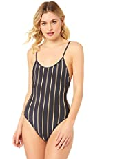 Suboo Women's Golden Knit One Piece