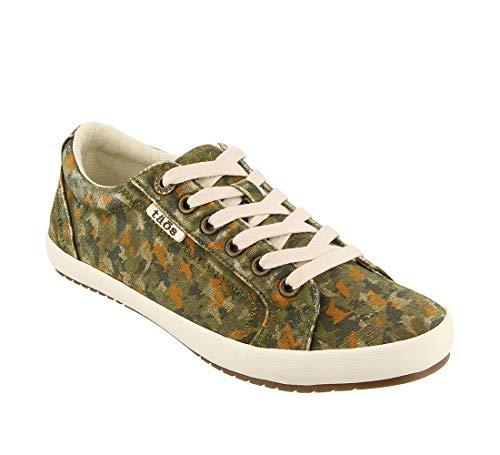 (Taos Footwear Women's Star Jungle Camo Sneaker 9 M US )