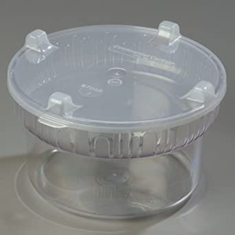 Clear Gourmet Bowl with Lid -- 1 each
