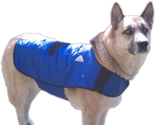 HyperKewl Evaporative Cooling Dog Coat, Medium,...