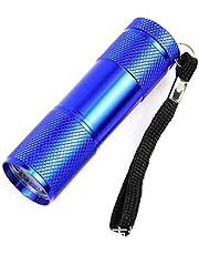 Sylvialuca Mini 9LED UV Zaklamp Ultraviolet Rays Onzichtbare Inkt Marker Detectie Zaklamp voor Controleer de Bill Money