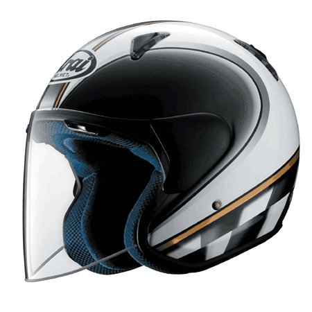 Amazon.com: Arai SZ/M - Casco abierto retro, XS: Automotive