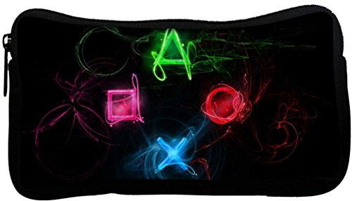 Snoogg-Neon-Playstation-Buttons-Poly-Canvas-Student-Pen-Pencil-Case-Coin-Purse-Utility-Pouch-Cosmetic-Makeup-Bag