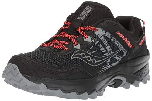 Femme Gtx Saucony Running Noir black De Chaussures 001 Tr12 Excursion HxanqaY