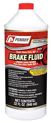 Penray 6032 Super Heavy Duty DOT 3 Brake Fluid - 32-Ounce Bottle