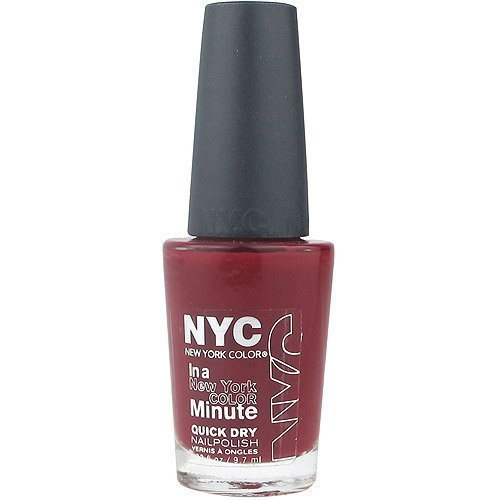 NYC Nail Polish 205 Columbus Circle Crimson by - Columbus Shopping Malls