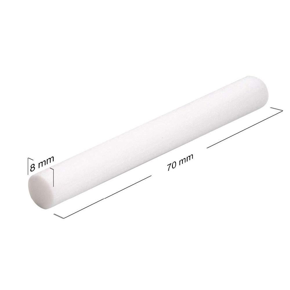 TOOGOO 10 Unids//Pack Reemplazo de Filtro de Humidificador Esponja de Algod/óN Stick para Humidificador USB Difusor de Aroma Humidificador de Aire Humidificador
