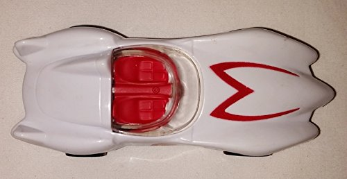 McDonalds Happy Meal 2008 Speed Racer's Mach 5 Toy White Car (Racers Mach 5 Toy)