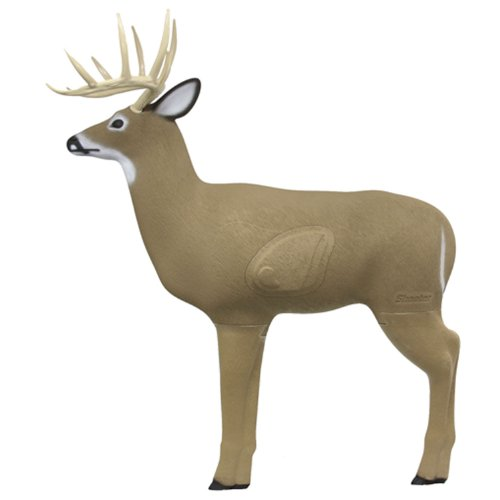 Deer Hunting Archery (Big Shooter Buck 3D Archery Target with Replaceable Insert Core)