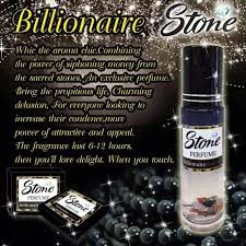 #Billionaire# Stone Perfume billionaire for women and men 20ml. Stone Perfume spay