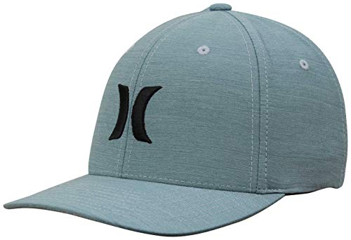 Hurley Men's Dri-Fit Cutback Hat, Celestial Teal - L/XL ()