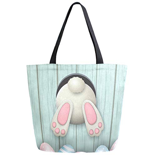 Lovely Easter Rabbit Extra Large Tote Bag