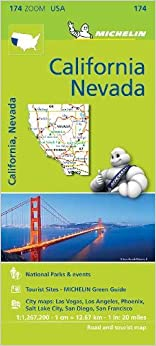 Mapa Zoom. California - Névada por Michelin epub