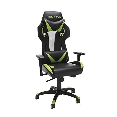 RESPAWN 205 Racing Style Gaming Chair, in Green (RSP-205-GRN)