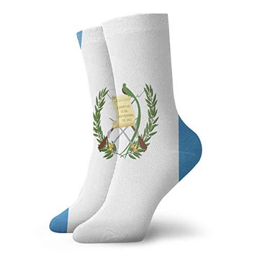 SESY Flag Of Guatemala Unisex Crew Socks Short Sports Stocking