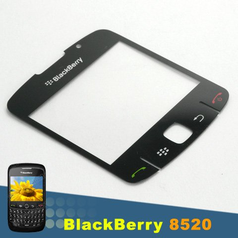OEM BLACKBERRY CURVE 8520 8530 BLACK LCD DISPLAY SCREEN LENS+BUTTONS KEY