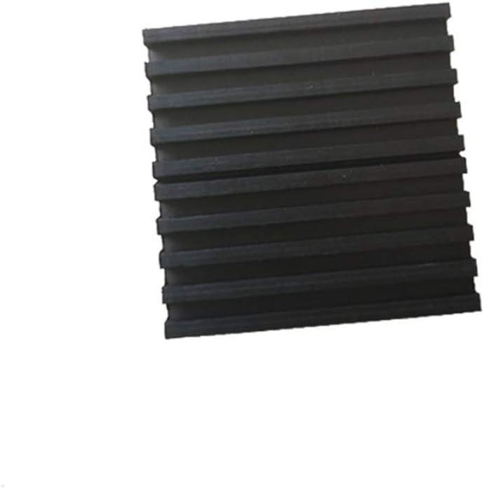 Vosarea 4 St/ücke Anti Vibration Pads Vollgummi Rippen Elastische Sto/ßger/äusche Schallisolation Vibration Pads D/ämpfung Pad Matten