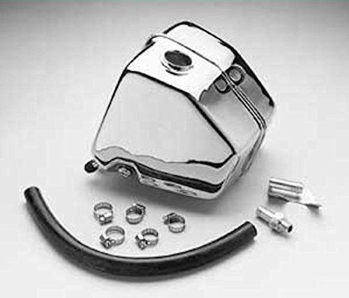 Chrome Oil Tank Kit for Harley Davidson FXR Models 1982-1990 ()