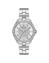 Bulova Women's Quartz Stainless Steel Casual Watch, Color:Silver-Toned (Model: 96L236)