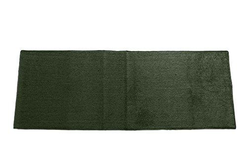 Emerald Wholesale Solid Berber Carpet Runner Rug/Mat, 22 by 60