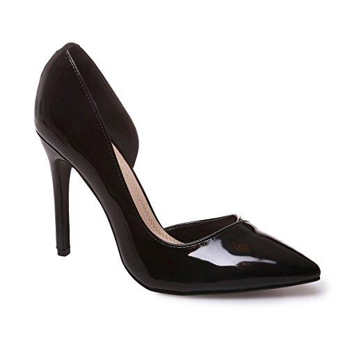 Modeuse Sintético Vestir La Material De Negro Zapatos Mujer fCTnwqnOx