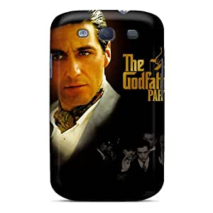 Shockproof Hard Phone Cases For Samsung Galaxy S3 (xGT12611JqIe) Custom High Resolution The Godfather Skin