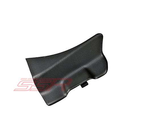 (2014 2015 2016 Ducati 899 1199 S R Panigale 1299 Fuse Box Battery Panel Cover Flap Matte Satin Carbon Fiber)