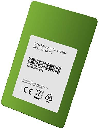 Clase 10 Tarjeta de Memoria de 128 GB para LG G7 Fit