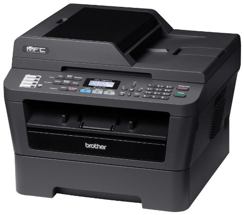 Brother Printer MFC7860DW Wireless Monochrome Printer with Scanner, Copier & Fax