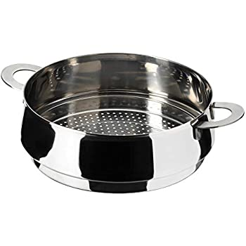 Amazon.com: Plato Plato de Alimentos Arrocera cesta de vapor ...