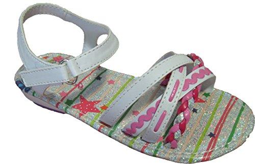 Sandales blanches pour filles