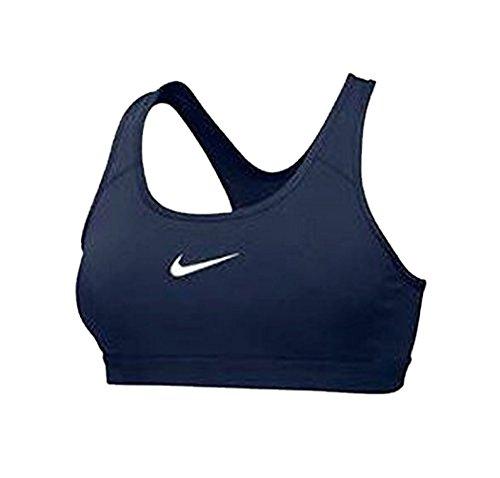 Nike Womens Pro Classic Sports Bra - Navy/White Size XL